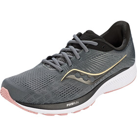 saucony Guide 14 Shoes Women, charcoal/rose